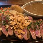 レストラン LAMP - アンガス牛ステーキ