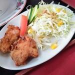 中国家庭料理 上海や - 唐揚げ(後出し)