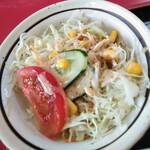 中国家庭料理 上海や - セットサラダ