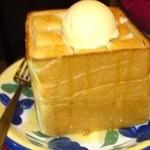元祖 にんにくや - 元祖はちみつトーストです