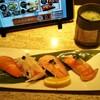 kaitenzushichoujirou - 料理写真:サーモンづくしセット