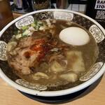 すごい煮干ラーメン凪 - すごい煮干ラーメン[味玉]970円。