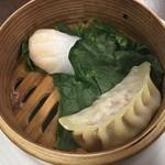 中国家庭料理 神洲之華 - ④蒸し点心二種