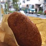 ブーランジュリ シマ - 最近は焼きカレーパンが多いけど揚げたカレーパンって懐かしくてやっぱり美味しい!