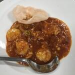 中国家庭料理 神洲之華 - ②シバ海老チリソース