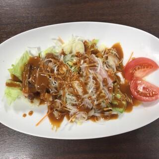 中国家庭料理 神洲之華 - 料理写真:➀中華サラダ