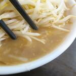 ラーメンどでん - スープ