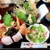 魚瀧 - 料理写真:ばくだん丼定食(税込1,000円)