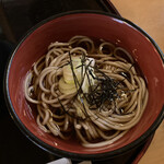 上野毛更科 - 冷たい御蕎麦が美味しかった