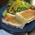 杢珈琲 - 料理写真:ロースハムと2種のチーズのホットサンド!
