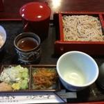 蕎麦処 大村 - 料理写真:あいせいろ(そば)