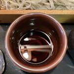 木挽庵 - 出汁感の強いそばつゆ