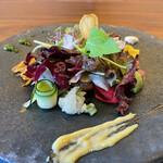 152966334 - 旬野菜30種類のサラダ