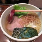 麺たつ - 塩ラーメン630円