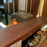 麺たつ - カウンター
