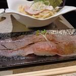 鶏Soba 座銀 - 炙り肉寿司