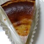 カッサレード - 料理写真:ピスタチオバスクチーズケーキ、名前が長い