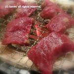 炭焼塩ホルモン『あ』神戸酒場 - 馬肉 500円