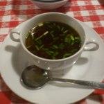 ザ カウボーイハウス - にんにくスープ
