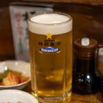 152987777 - 2021.6 生ビール 中ジョッキ サッポロ静岡麦酒(528円)