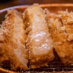 水塩土菜 - 料理写真:2021.6 特吟定食 特吟ロース(3,630円)