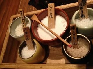 中島康三郎商店 - 蕎麦用の塩