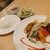 ニコニコ キッチン さんさん - 料理写真:ランチセット(800円)2021年6月