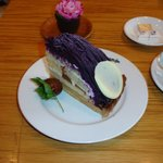 カフェヴィヴモンディモンシュ - 紅芋をつかったタルト(2007.4.21)