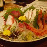 居酒屋 太平記 - 刺身の5種盛り