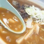 らーめん 信 - スープ