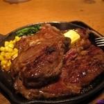 お肉だヨ!全員集合 バクテキ - 450gワイルドビーフステーキ