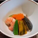 鮨長 - 冷やし煮物