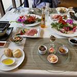 花いろどりの宿 花游 - 料理写真:夕食