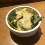 板前寿司  - セットのサラダ