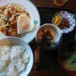 レストランまるやま - 料理写真:ランチ豚キムチ