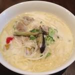 モカロ - 若鶏と野菜のクリームソースパスタ