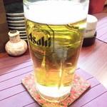 遊膳家 ふみ氏 - 生ビール