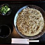 なかじ - 料理写真:もりそば 650円