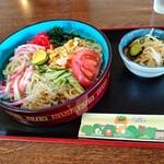 ニュー飯店 - 料理写真:【2021.6.15(火)】冷し中華(並盛)750円