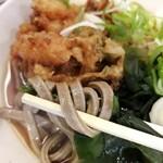 一〇そば - 太麺蕎麦