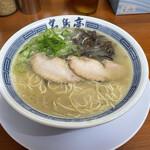名島亭 - 豚骨ラーメン(600円)