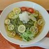 蕎麦 二天 - 料理写真:すだち蕎麦(茶)