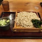 嵯峨谷 - 特もりそば(細麺)