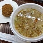 五合園レストハウス - 料理写真:コロッケと豚汁