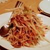 頂香 - 料理写真:ゴボウと細切り野菜のサラダ