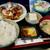 味楽 - とり唐揚おろしポン酢定食(850円)