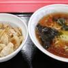 中華料理大連 - 料理写真:ラーメン+肉あんかけ丼