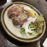 Shinjukuomoideyokochougyuutaniroha - ネギ塩牛タン