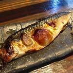 米寿 - 料理写真:幻のサバの一夜干し