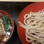 高円寺肉汁うどん 夕虹 - 肉汁うどん中